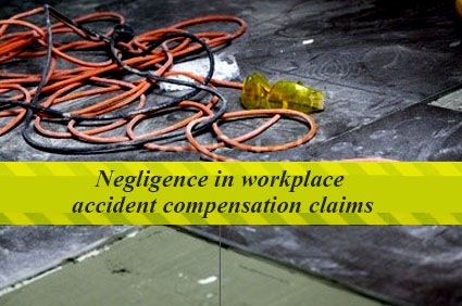Negligence in workplace accident compensation claims