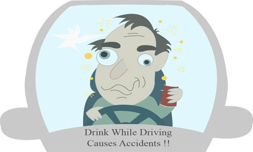 Driving tests and motor vehicle accidents