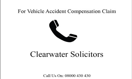 Making a motor vehicle accident compensation claim
