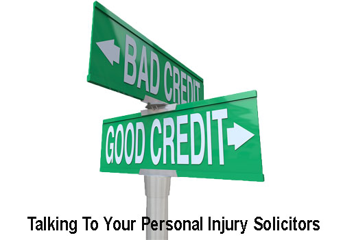 talking to your personal injury solicitors