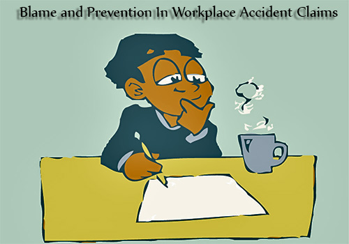 Blame and prevention in workplace