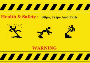 Preventing slips and trips in the workplace