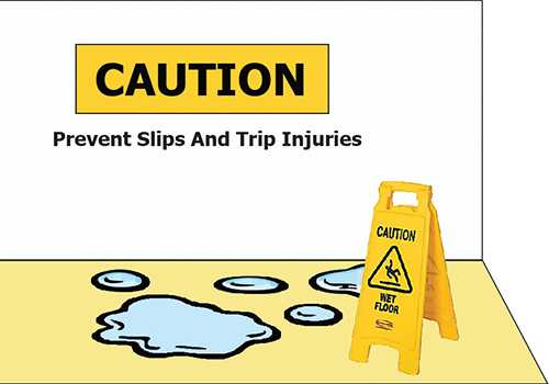 slips and trips claims