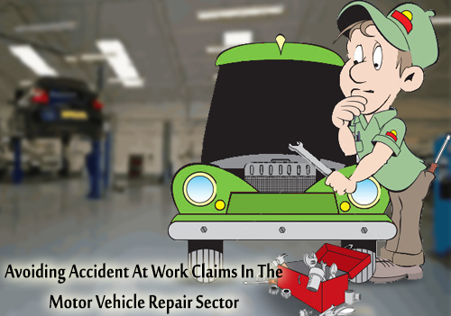 Avoiding accident at work claims in the motor vehicle repair sector