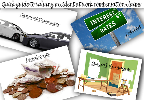Quick guide to valuing accident at work compensation claims